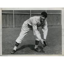 1934 Press Photo Joyner Jojo White Detroit Tiger outfielder - nes27650