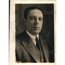 1919 Press Photo Juan Carlos Blanco Minister from Uruguay to Paris