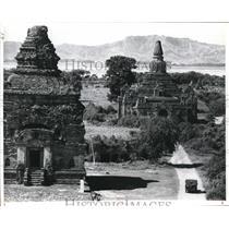 1936 Press Photo Pagan, Historical ruin, City of Four Million in Mandalay