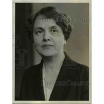 1928 Press Photo Mrs Minnie Fisher Cunningham, League of Woman voters, Wash.