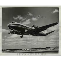 1953 Press Photo Discovery, Vickers Viscount Flagship Airplane - nee36906