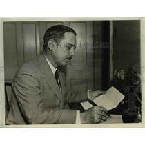 1931 Press Photo Rafael Casbrera, one of the leaders of the Cuban Nationalist