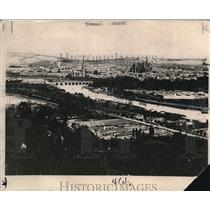1918 Press Photo View of Metz city, the target of American troops