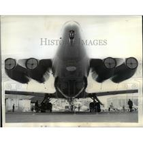 1965 Press Photo Russian Ilyushin 62 Plane