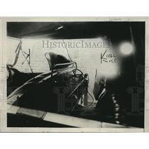 1922 Press Photo W Kerschbaum Elgin Touring Car with Wireless Radio in Cicero