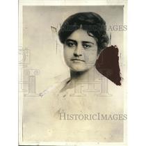 """1920 Press Photo """"Squaw"""" Mrs Eugene Lawson descendent chief Delaware Nation S.F."""