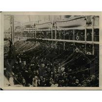 1923 Press Photo The Pier at Melbourne during the Australian Davis Cup Tennis