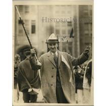 1924 Press Photo Atlantic City High School Edward Bader Football Coach