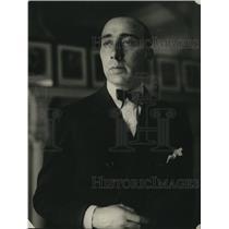 1922 Press Photo R Selenzi 3rd Sec of Italian Embassy in Wash DC