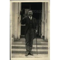 1922 Press Photo Baron Shidehara, Ambassador from Japan to U.S., at White House