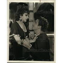 1930 Press Photo Actress Estelle Taylor & Charles Farrell in Devil With Women