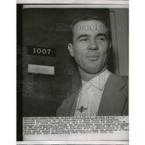 1954 Press Photo W Boyd Pres Of National Assoc For Advancement Of White People