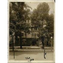 1917 Press Photo House of Herbert C Hoover