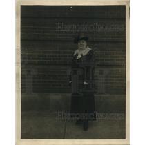 1918 Press Photo Mrs Robert Carleton Morris Toledo Ohio War Mothers America