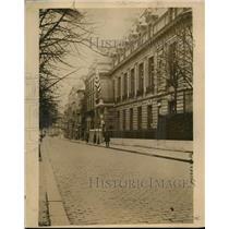 1919 Press Photo The present Paris France home of US Pres Wilson