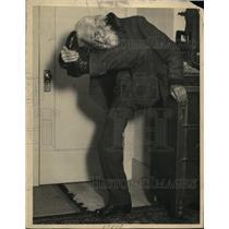 1924 Press Photo D Edsen Smith of Berkley California