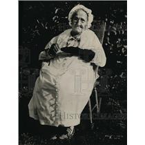 1923 Press Photo Susannah Stevens Age 102 of Del Mar California