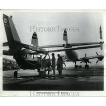 1956 Press Photo Cessna and Skymaster Aircraft
