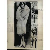 1930 Press Photo of Mrs. Edmund A Rieder . - nee46816