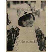 1919 Press Photo Little Miss Cherry Blossom of Japan