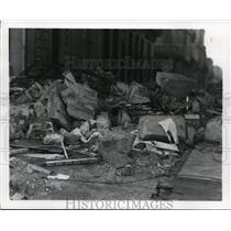 1926 Press Photo Havana Cuba, Hurricane Damage  - nee47624