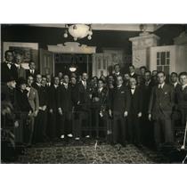 1922 Press Photo 1st Reception at Brazilian Embassy in Berlin - nex78915