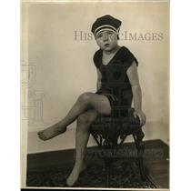1924 Press Photo Adoree Hurtt Swimmer from Baltimore Maryland