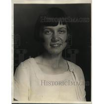 1927 Press Photo Rulda Fornell of Sweden Age 13