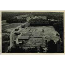 1938 Press Photo Sewage Plant at Durham Norh Carolina built by WPA. - nee50471