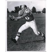 1963 Press Photo Colts Halfback Bob Boyd