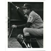 1987 Press Photo Kansas City Royals Manager Billy Gardner