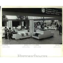 1979 Press Photo Cleveland Hopkins Airport