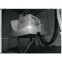 1992 Press Photo The Flight Simulator