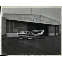 1970 Press Photo Cuyahoga County Airport
