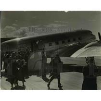 1937 Press Photo Cleveland Airport - cva47500