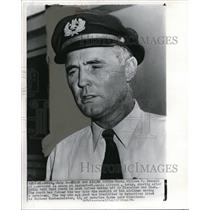 1972 Press Photo Captain William Bonnell, the pilot who shot a youth
