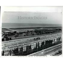 1977 Press Photo Burke Lake Front Airport