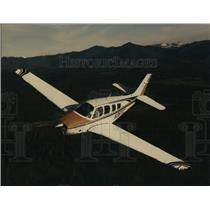 1991 Press Photo Airplanes Bonanza B36TC