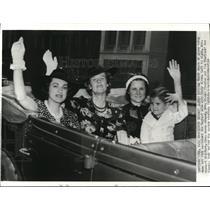 Press Photo Howard Hughes Round the World Flight