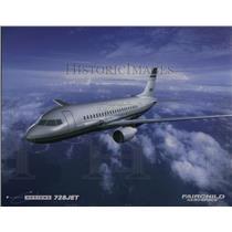 1999 Press Photo The Fairchild Aerospace 728 Jet