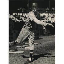 1936 Press Photo Cleveland Indians George Blaeholder
