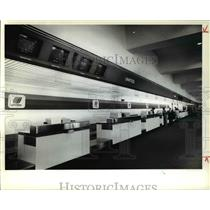 1979 Press Photo Interior of the Cleveland Hopkins International Airport