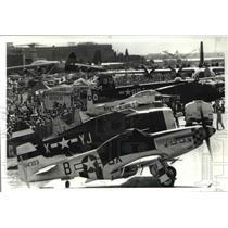 1982 Press Photo Warbirds World War II planes