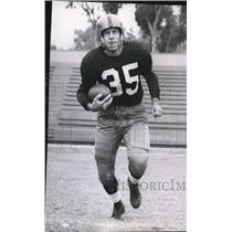 1950 Press Photo Bill Dudley Halfback for the Redskins
