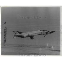 1969 Press Photo Thunderbird takes off