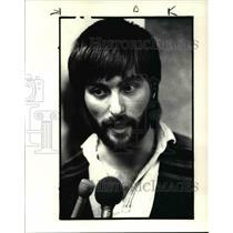 1984 Press Photo Released Hostage Klaus Miller