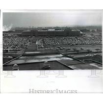1971 Press Photo Cleveland Hopkins International Airport Parking Garage