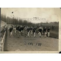 1920 Press Photo Princeton track team working out for upcoming Int'l Relays