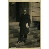 1923 Press Photo Filippi Delegate To Mexico, Under President Obregon