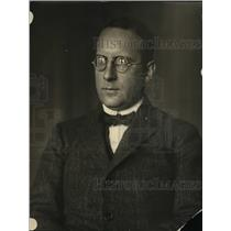 1921 Press Photo Boron E Vin Thaemann Ambassdor to USA from Germany